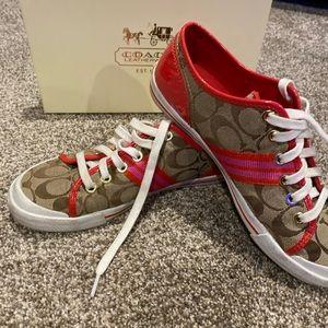 Women's size 7 coach shoes